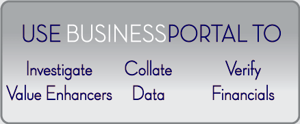 Use BusinessPortal-CN to prepare businesses for sale
